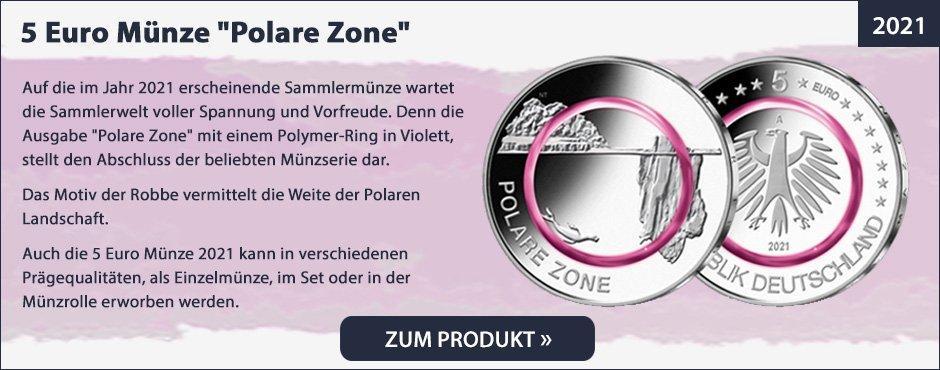 5 Euro Münze Polare Zone
