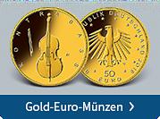 Gold-Euro-Münzen