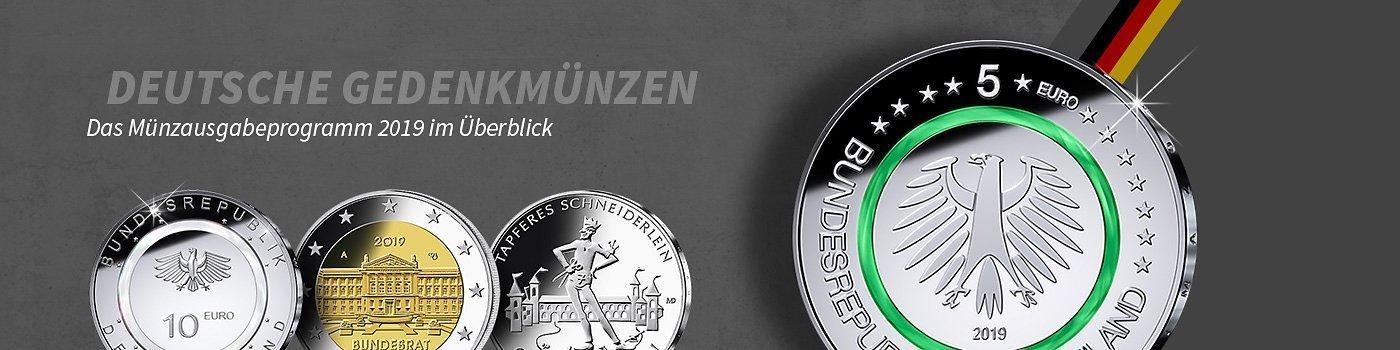 Deutsche Gedenkmünzen 2019 Mdm Deutsche Münze