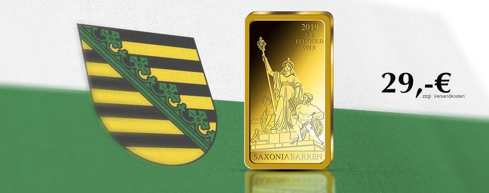 MDM - Goldbarren Saxonia 2019