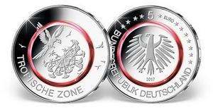 5 Euro Klimazonen 2017