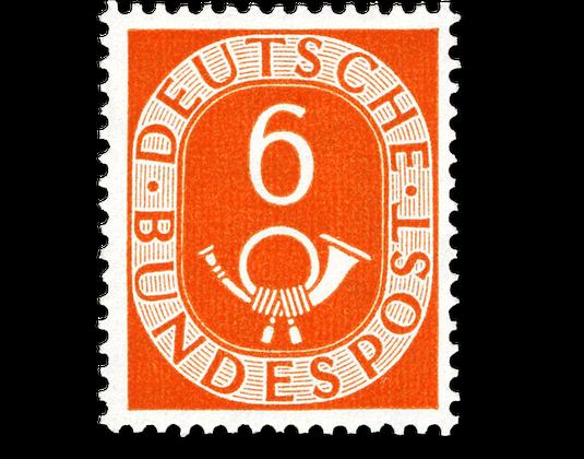 Der Legendäre Posthornsatz Der Deutschen Bundespost Borekde