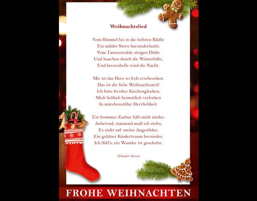 Frohe Weihnachten F303274r Kunden.Briefmarkenbogen Frohe Weihnachten