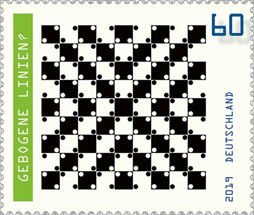 Briefmarkenserie Optische Täuschungen
