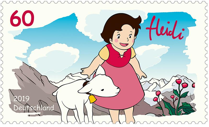 Briefmarkenserie Helden der Kindheit