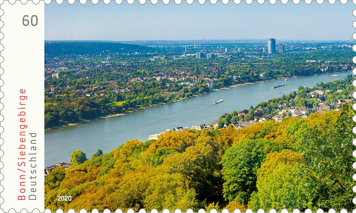 Briefmarkenserie Deutschlands schönste Panoramen