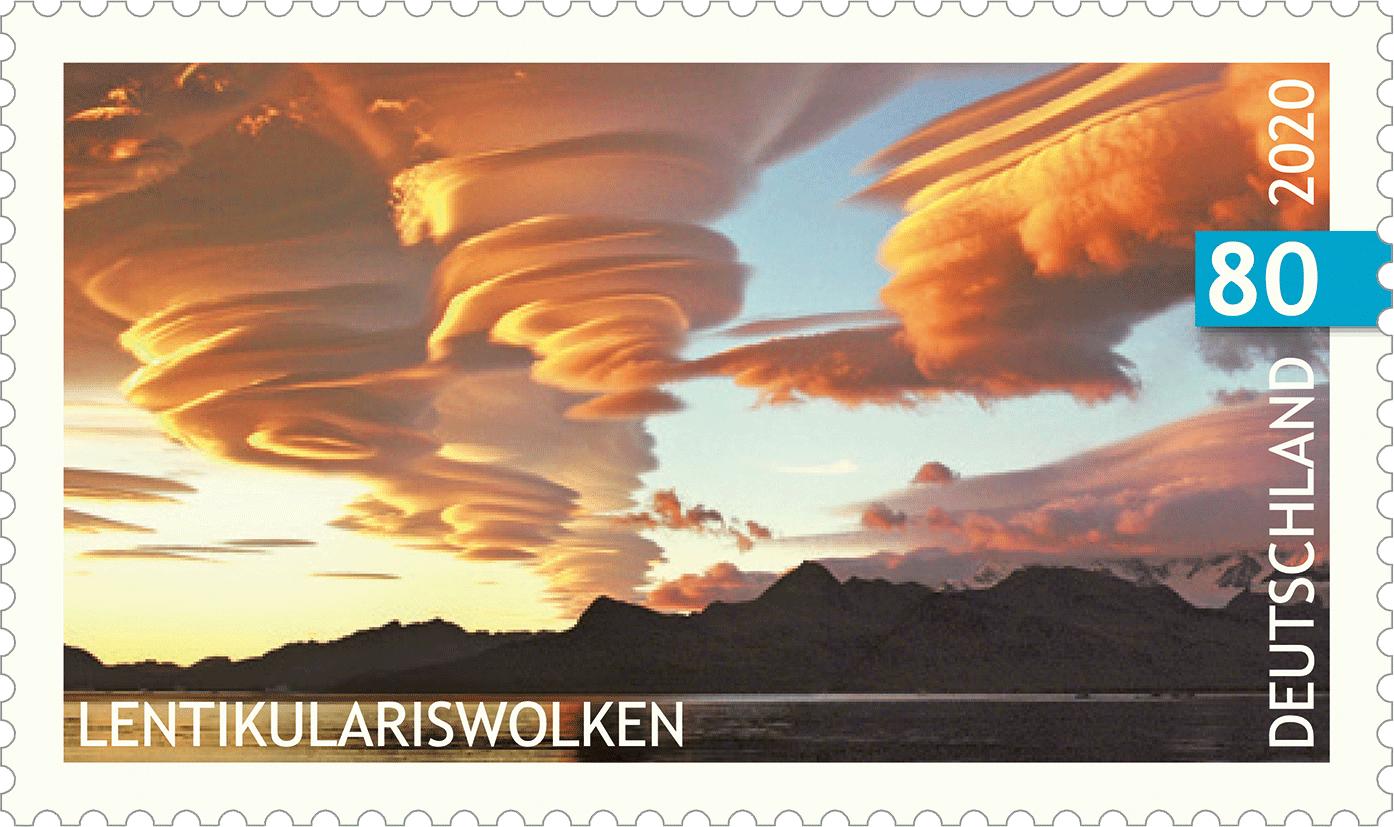 Briefmarkenserie Himmelsereignisse