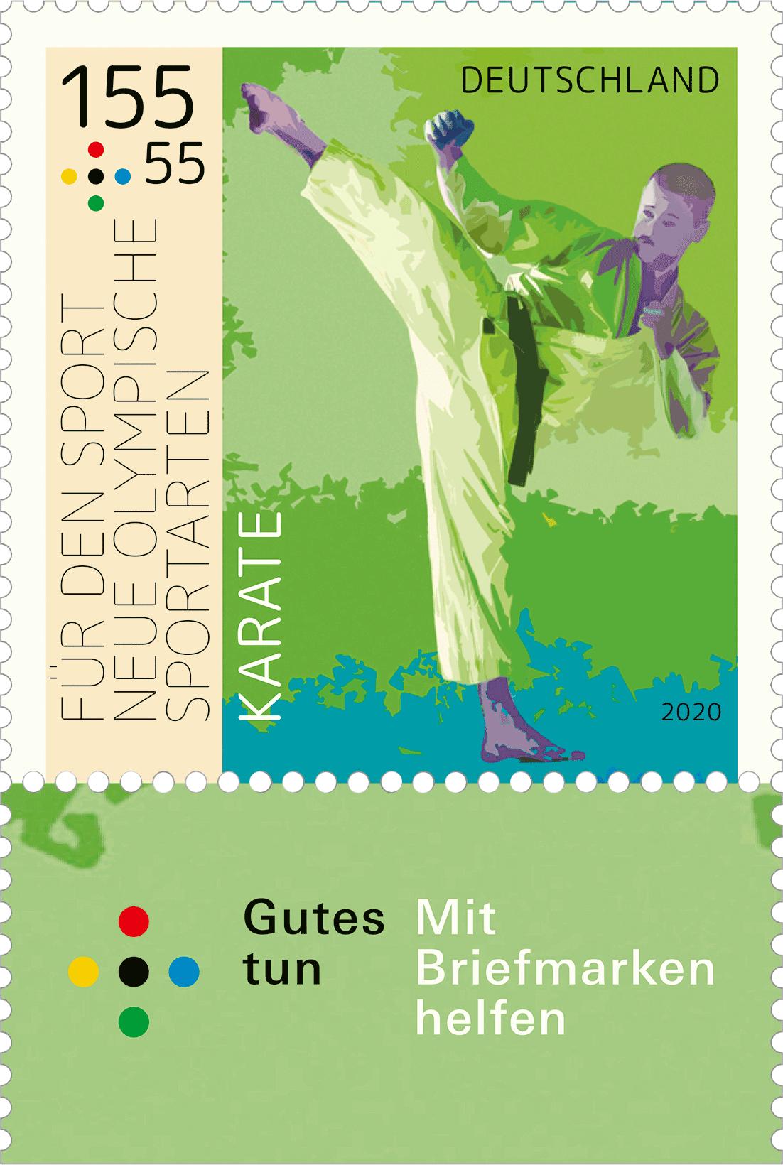 Briefmarken Neue olympische Sportarten