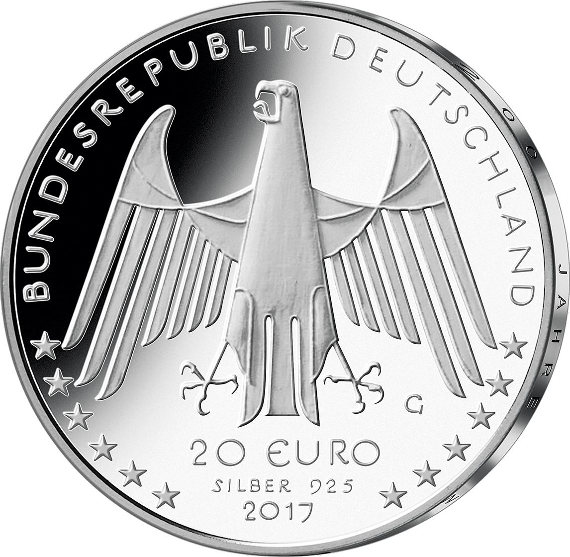 20 Euro Silber Münze 2017 200 J Fahrrad St Münzen Günstigerde