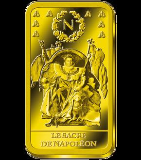Monnaie en or massif de 20 Francs Napoléon Ier Tête Laurée