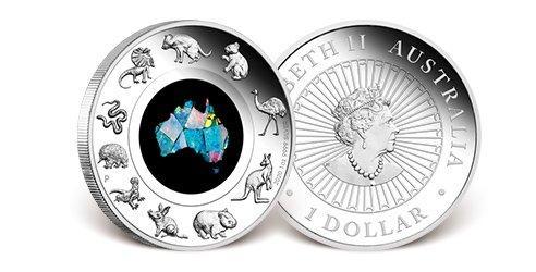 Australien 2020 Silber-Gedenkmünze Australischer Kontinent