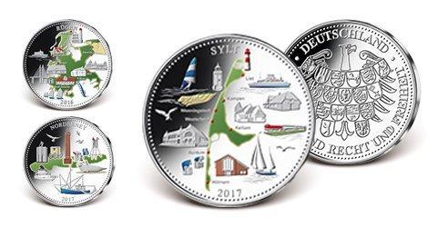 Deutsche Inseln in echtem Silber: Startlieferung Sylt