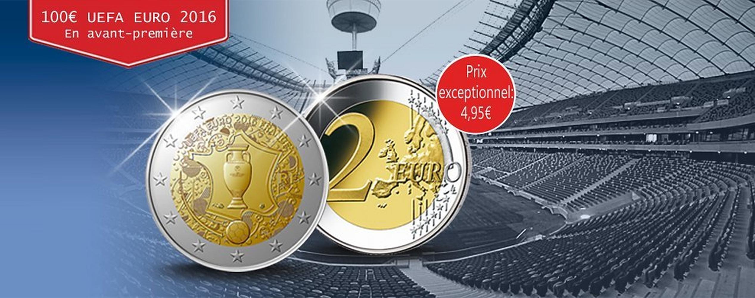 Pièce De 2 Euros Uefa Société Française Des Monnaies