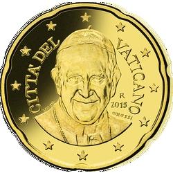 20 Cent Vatikanstadt