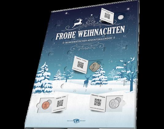 Numismatischer Adventskalender 2016 2015 Mdm Deutsche Münze