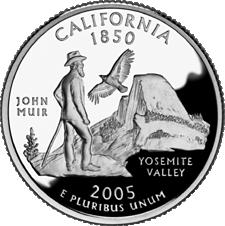 US State Quarters - California