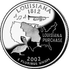US State Quarters - Louisiana