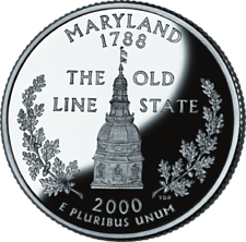 US State Quarters - Maryland