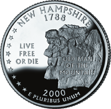 US State Quarters - New Hampshire