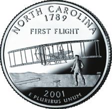 US State Quarters - North Carolina