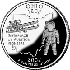 US State Quarters - Ohio