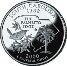 US State Quarters - South Carolina