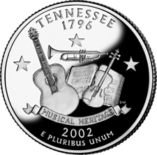 US State Quarters - Tennessee