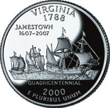 US State Quarters - Virginia