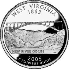 US State Quarters - West Virginia