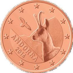 1 Euro-cent Andorra Motivseite