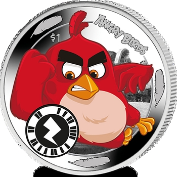 Pobjoy Mint Angry Birds coin
