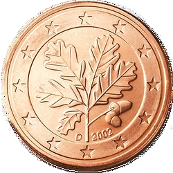 1 Euro-cent Deutschland Motivseite