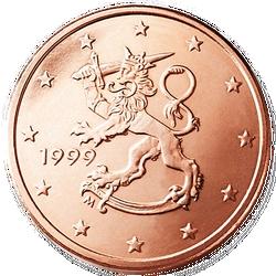 1 Euro-cent Finnland Motivseite