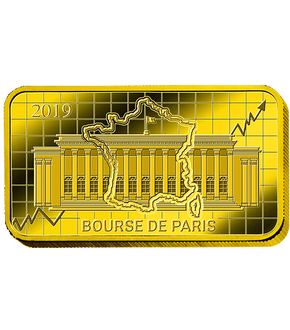Lingot en or pur - Bourse de Paris 2019
