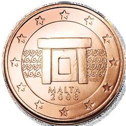 1 Euro-Cent Malta Motivseite