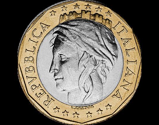 Italien 1000 Lire Spektakuläre Fehlprägung Mdm Deutsche Münze