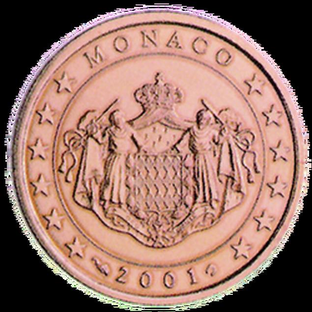 5 Euro-Cent Monaco Motivseite