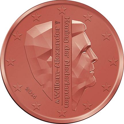 1 Euro-Cent Niederlande Motivseite