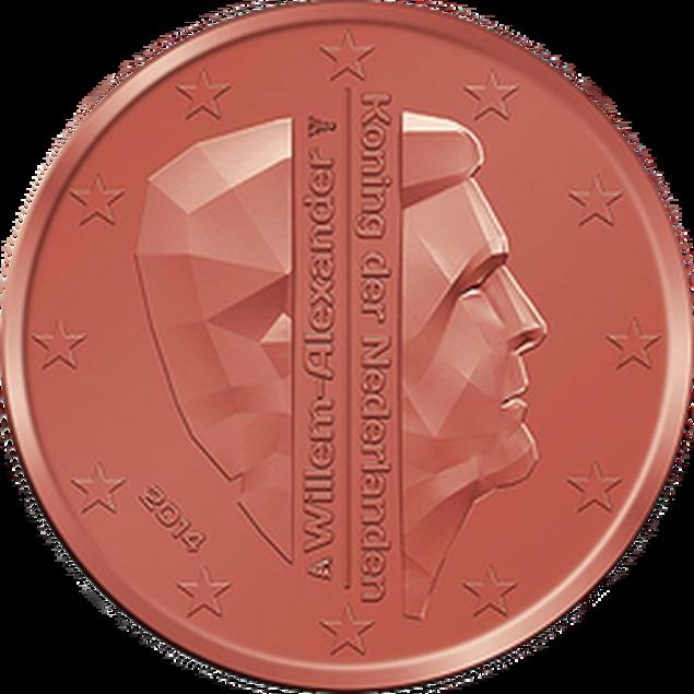 5 Euro-Cent Niederlande Motivseite