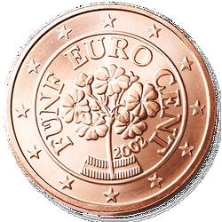 5 Euro-cent Österreich Motivseite