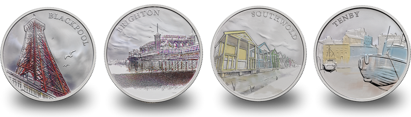Portraits of Britain 2018 by The Royal Mint