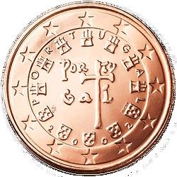 5 Euro-cent Portugal Motivseite