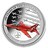 BAE Hawk silver coin