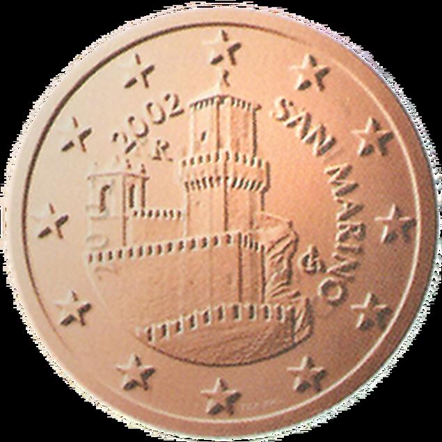 5 Euro-Cent San Marino Motivseite