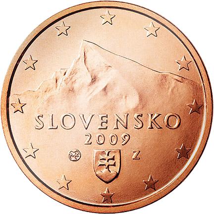 1 Euro-Cent Slowakei Motivseite