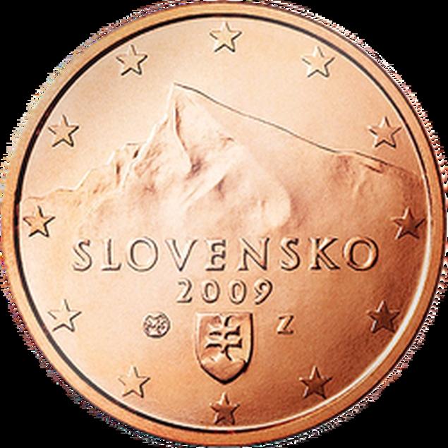 5 Euro-Cent Slowakei Motivseite