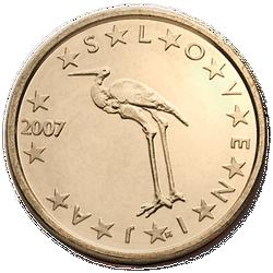 1 Euro-Cent Slowenien Motivseite