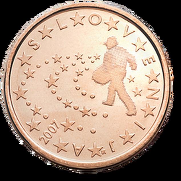 5 Euro-Cent Slowenien Motivseite