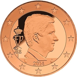 1 Euro-cent Belgien Motivseite
