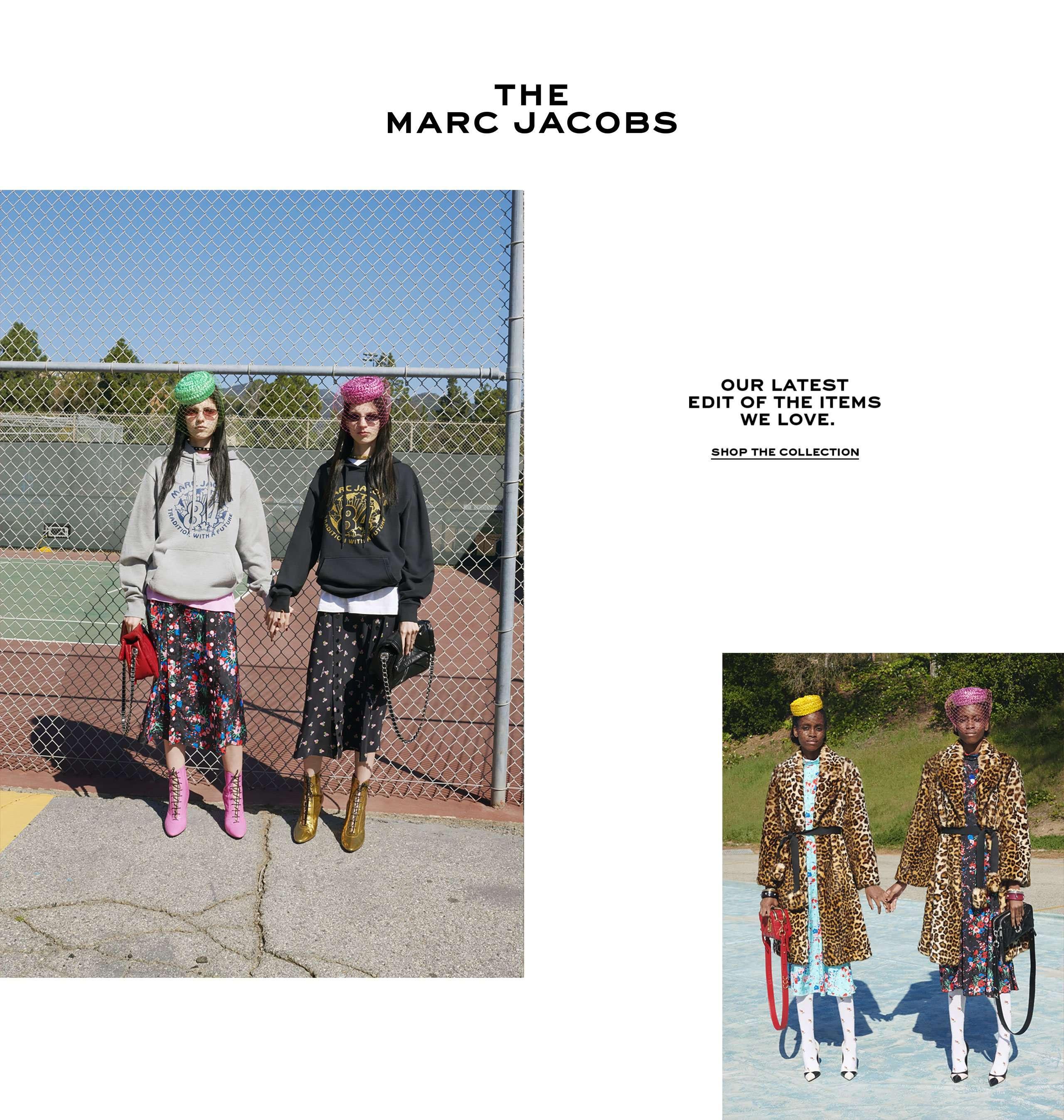 huge discount 5c1db 72968 Marc Jacobs | Official Site